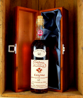 Chateau Montifaud Heritage Grand Cru 40 year old Cognac