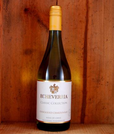 Echeverria Unwooded Chardonnay 2017