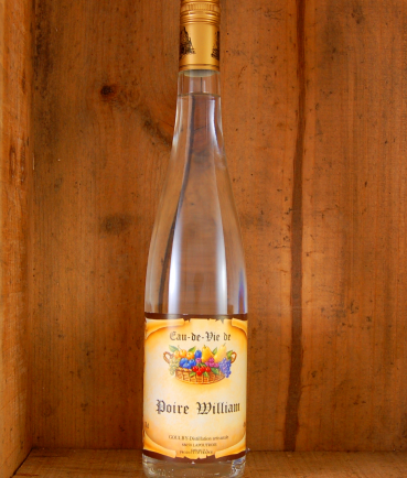 Eau de vie Poire William
