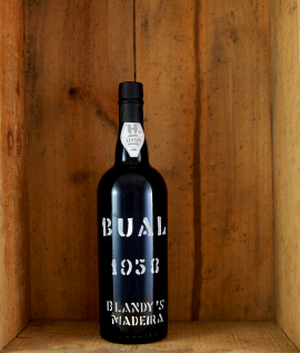 1958 Blandy's Vintage Bual Madeira 50cl