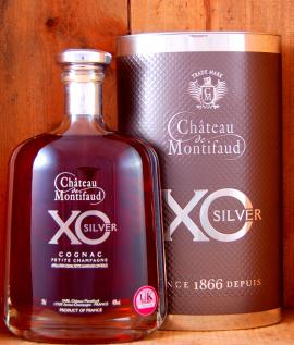 Chateau Montifaud XO Silver Cognac Petite Champagne