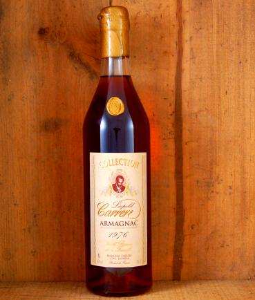 Vintage Armagnac bottle Collection Carrere 1976