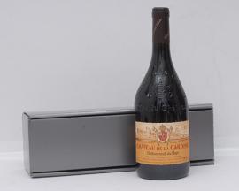 Gift Boxed Chateauneuf du Pape Rouge Chateau Gardine
