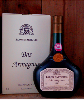 1957 Vintage Baron d'Artigues Armagnac