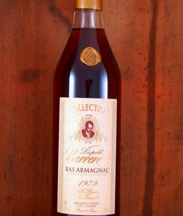 1978 Vintage Armagnac bottle Collection Carrere
