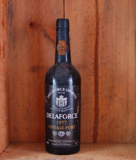 1977 Delaforce Vintage Port in gift box