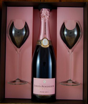 Louis Roederer Rosé Vintage Jamesse Prestige Gift Box