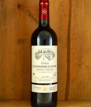 Chateau la Commanderie de Queyret, Bordeaux Superieur 2015
