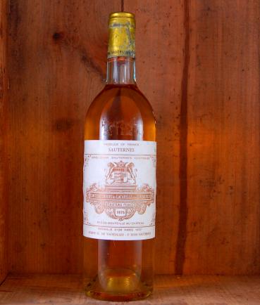 Sauternes, Chateau Filhot Sauternes 1975