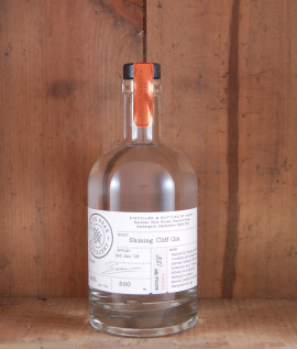 Shining Cliff Gin White Peak Distillery 50cl