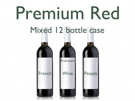 Mixed 12 Bottle Case Premium Reds