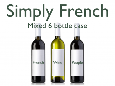 French Mixed Red and White 6 Bottle Case