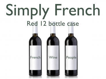 French Mixed Red 12 Bottle Case