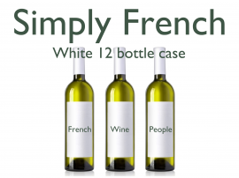 French Mixed White 12 Bottle Case