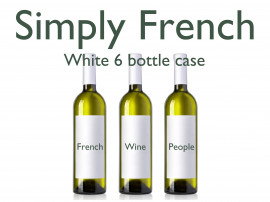 French Mixed White 6 Bottle Case