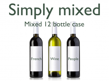 Mixed 12 Bottles Red & White Case