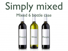 Mixed Red & White 6 Bottle Case
