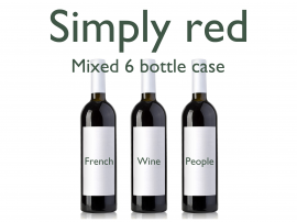 Mixed Reds 6 Bottle Case