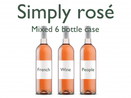 Simply Rosé 6 Bottle Case