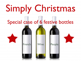 Simply Christmas 6 Bottle Case