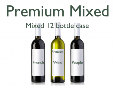 Mixed Premium Red & Whites 12 Bottle Case