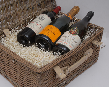 The Director's Choice 3 Bottle Hamper