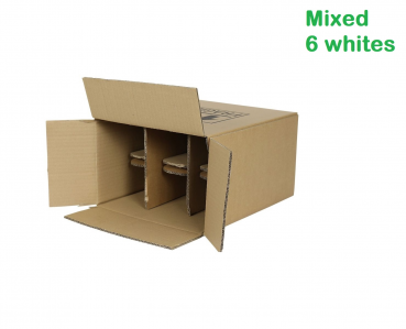 Mix Whites Pack 6 bottles - #StaySafe Special