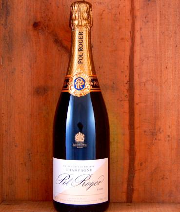 Champagne Pol Roger Extra Cuvee de Reserve, Rich