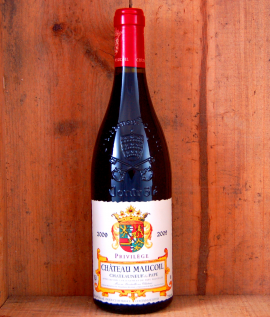 Chateauneuf du Pape Rouge  Chateau Maucoil Privilege 2014