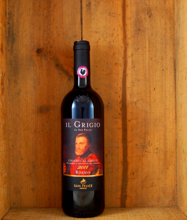 Il Grigio Chianti Classico Riserva DOCG, Tuscany 2015