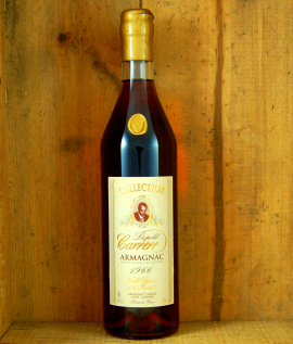 1966 Vintage bottle Armagnac Collection Leopold  Carrere