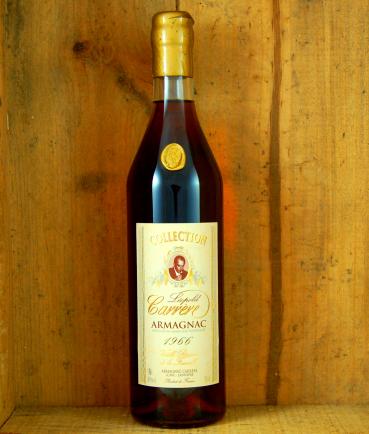 1966 Vintage bottle Armagnac Collection Leopold  Carrere