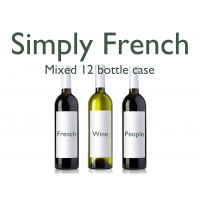 French Mixed Red and White 12 Bottle Case