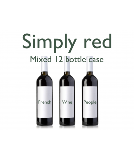 Mixed Reds 12 Bottle Case