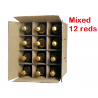 Mix Reds Pack 12 bottles - #StaySafe Special